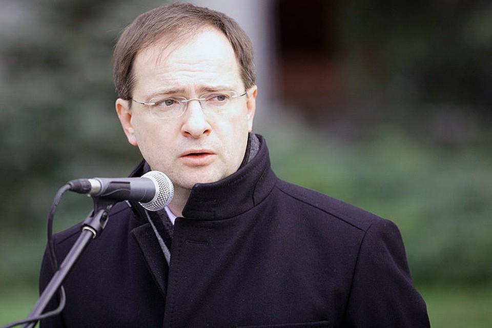 Министр культуры Мединский дал старт патриотической акции «Дороги Победы»