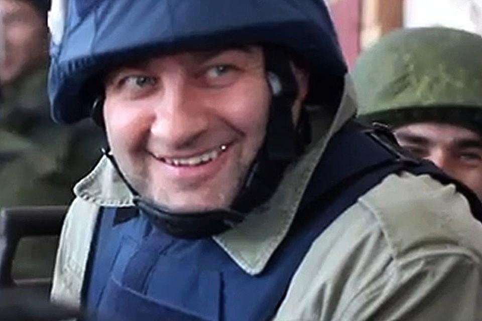 Пореченков объяснил, что он делал в Донбассе и почему на нем оказалась каска журналиста
