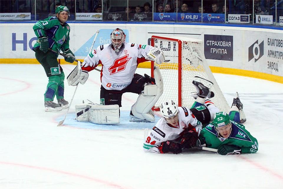хоккей онлайн салават юлаев сегодня
