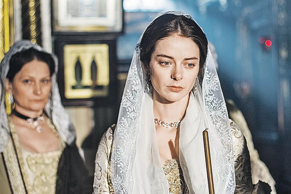 Для роли императрицы Марина Александрова штудировала архивы и училась фехтовать