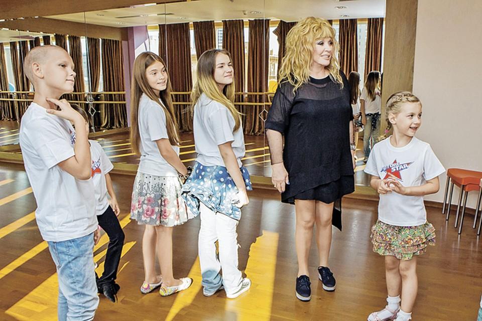 Алла Борисовна сама отбирает учеников. Фото: личный архив.