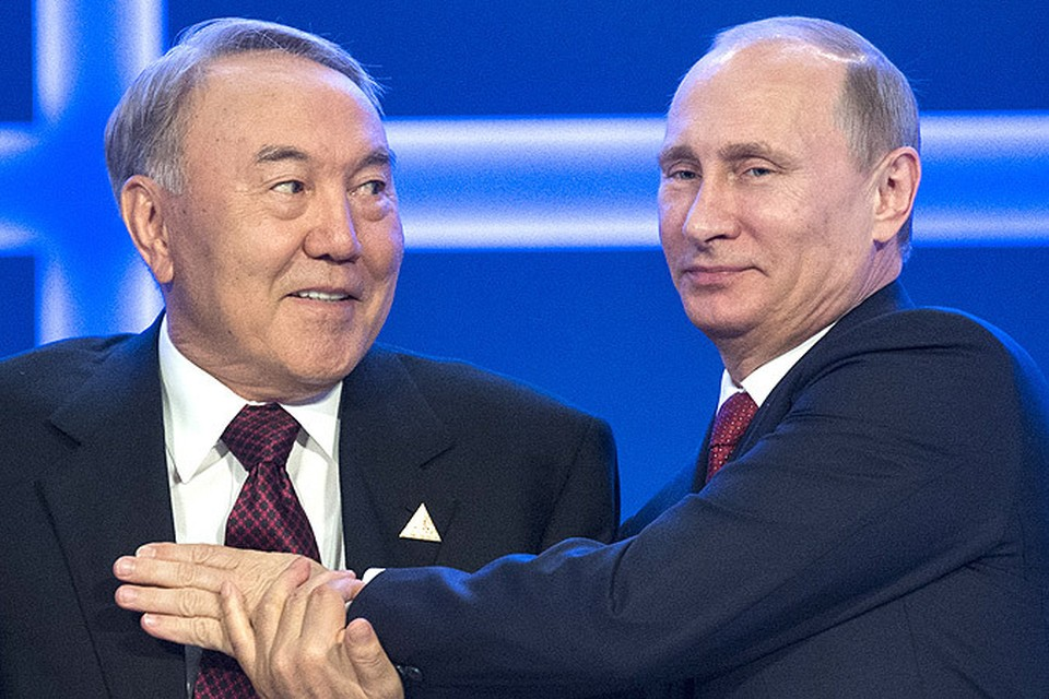"""Президент Казахстана Назарбаев: """"Да Путин самый нормальный либерал сегодня!"""""""