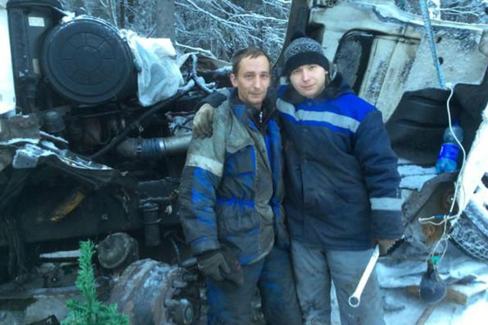 Наши земляки шесть дней провели на морозе. Хорошо, добрые люди помогли с продуктами. Фото gazeta-petrozavodsk.ru