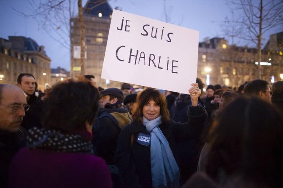 В результате атаки на Charlie Hebdo погибли 12 человек