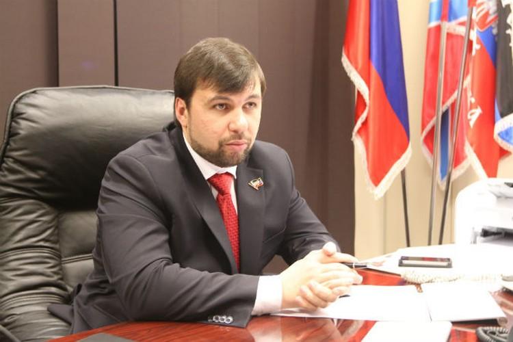 Денис Пушилин, представитель ДНР на переговорах контактной группы по урегулированию ситуации в Донбассе.