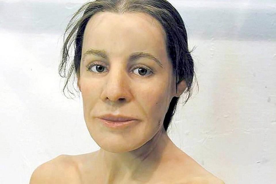 Вот так, по версии швейцарского ученого, выглядела 16-летняя девушка, похороненная 2,5 тысячи лет назад. Фото: Daily Mail