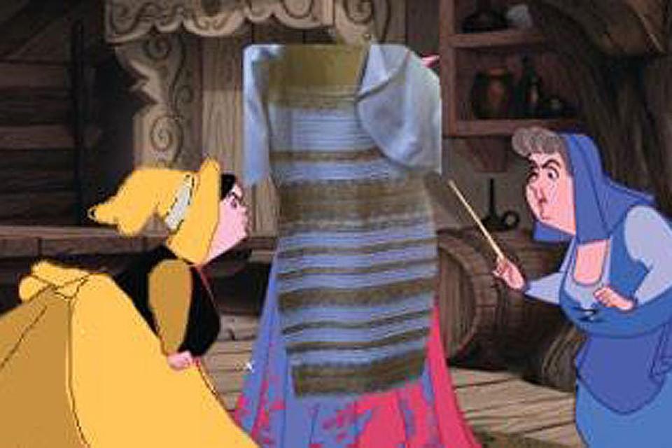Платье тест на восприятие цвета