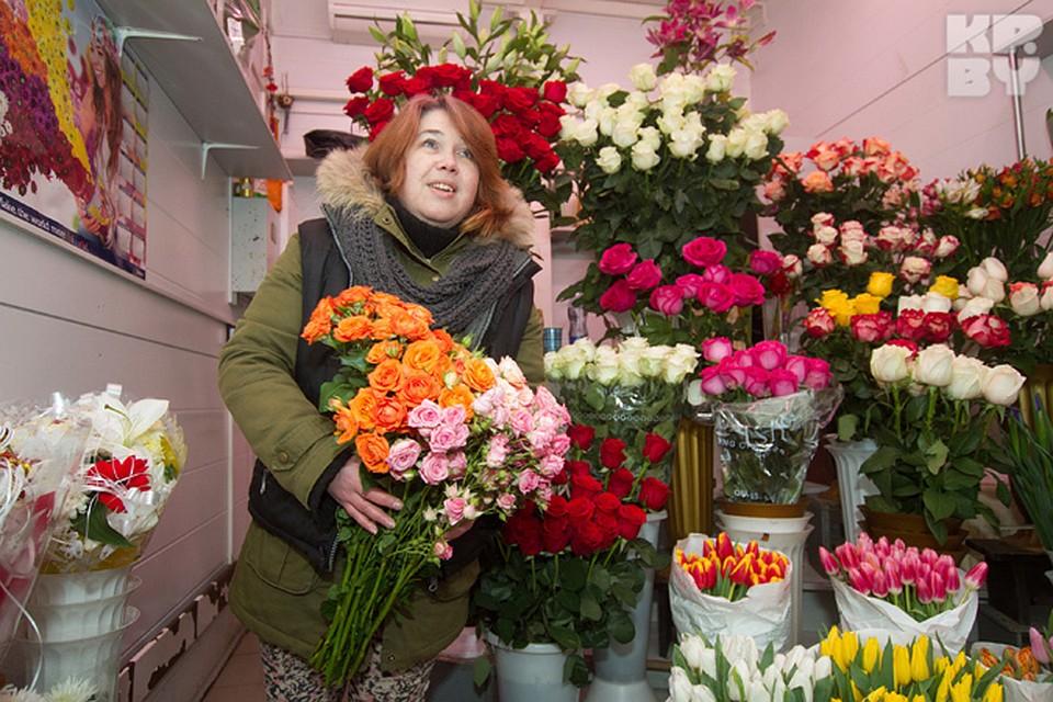 Цветы москва 8 марта