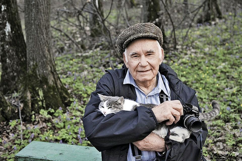 Таким мы запомнили Василия Михайловича. Фото: Сергей ЖДАНОВ