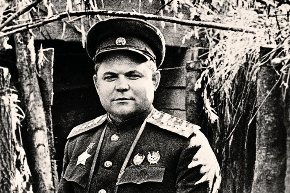 Генерал Николай Ватутин освобождал Киев от фашистов.