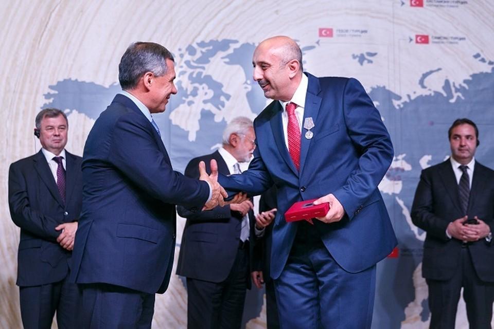 Поиск новых партнеров - основа политики Рустама Минниханова.