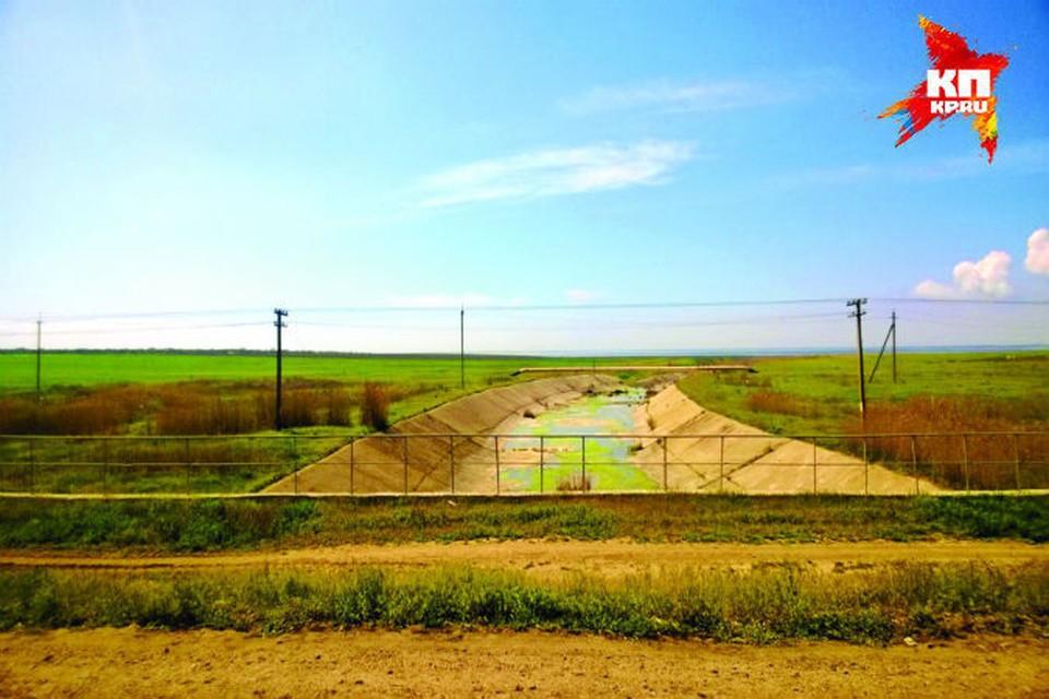 """Воду подают из Белогорского водохранилища и реки Биюк-Карасу. Фото: архив """"КП""""."""