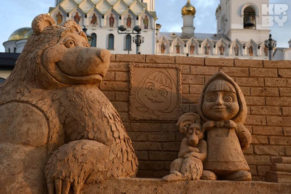 3 мая на улице Калиновского возле Храма Всех Святых откроется фестиваль песчаных скульптур.