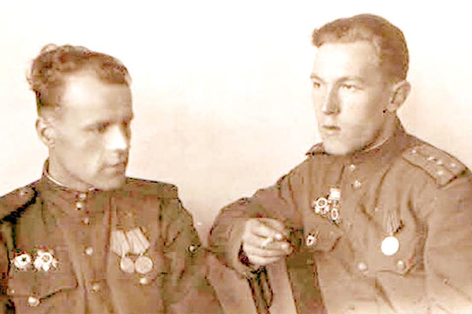 Анатолий Бельшин (справа) участвовал при взятии Кенигсберга, освобождал Польшу и Белоруссию.
