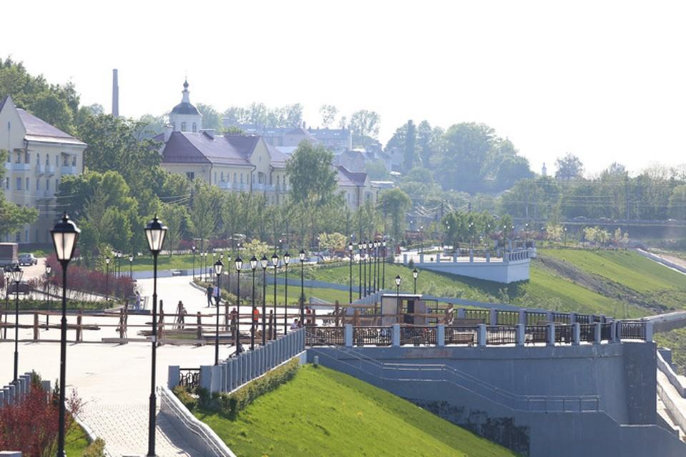 В Смоленске устанавливают памятник князю Владимиру.
