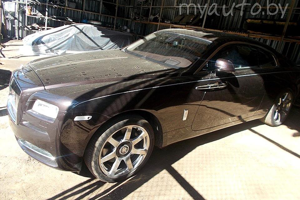 Стартовая цена конфискованного Rolls-Royce Wraith – 235.000$, это на 100.000$ дешевле рыночной цены. Фото сайта myauto.by