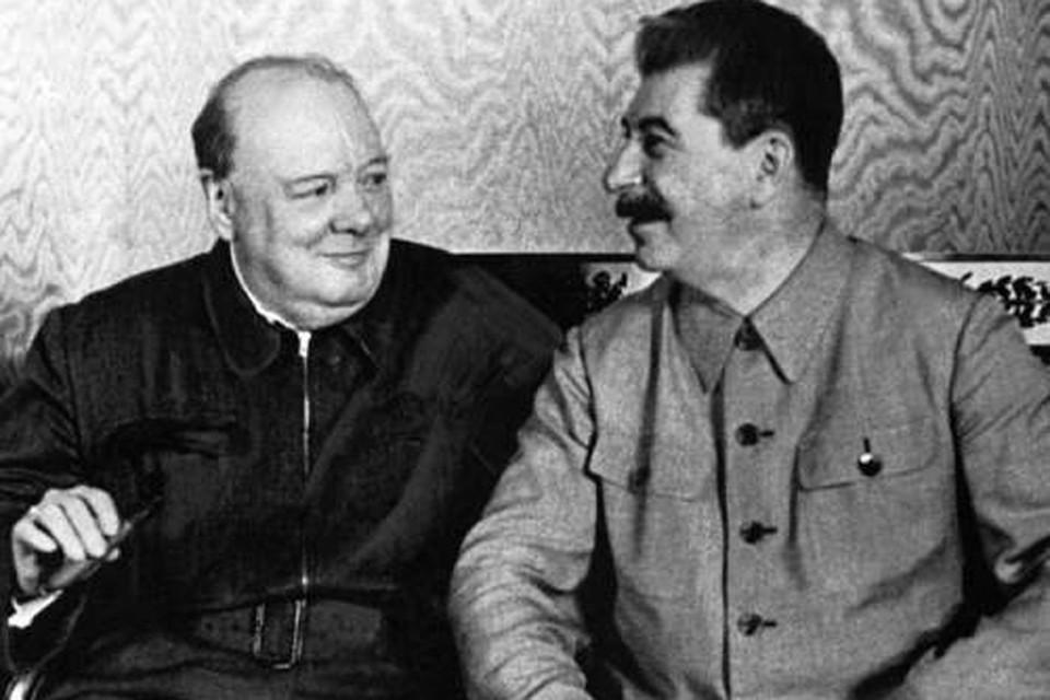 Черчилль был не меньшими преступником чем Сталин