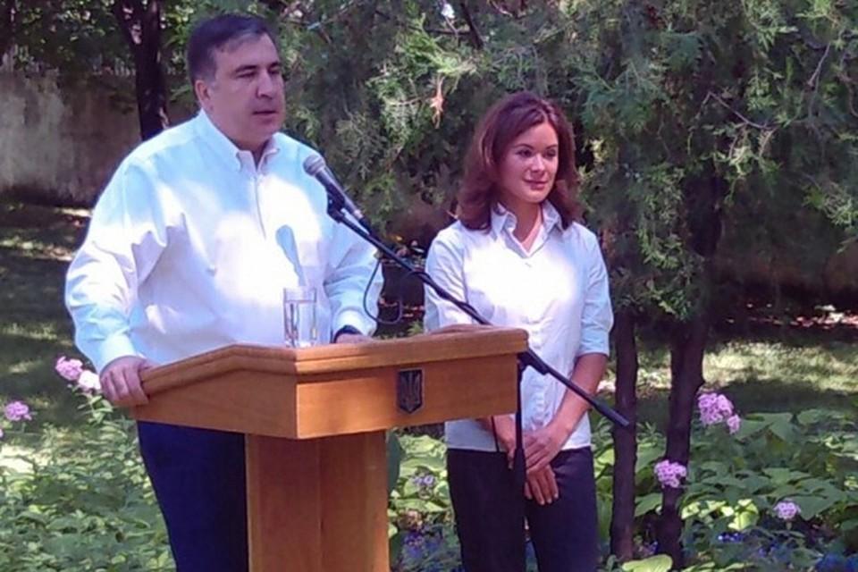 Губернатор Одесской области представил своего заместителя по социальным вопросам Марию Гайдар. Фото: dumskaya.net