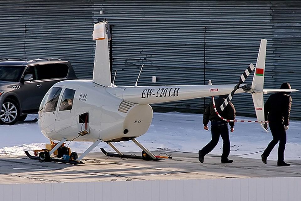 Кто в Беларуси может себе позволить собственный вертолет? Фото сайта byavia.net.