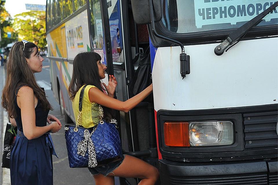 На автобусе из Москвы в Севастополь можно доехать всего за 3200 рублей.