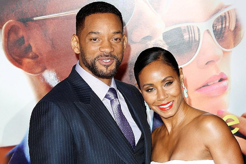 фото уилл смит с женой фото