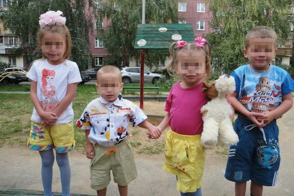 Дети и жертвы предполагаемого преступника