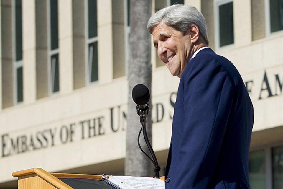 Джон Керри стал первым госсекретарем США, который ступил на кубинскую землю за последние 74 года