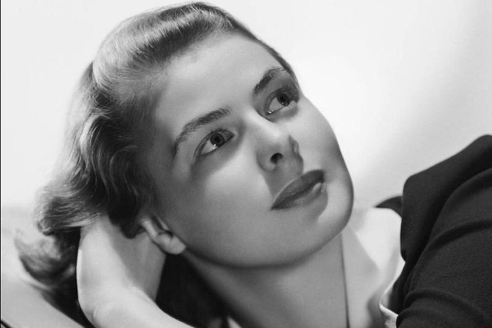 Ингрид Бергман - одна из самых красивых актрис ХХ века