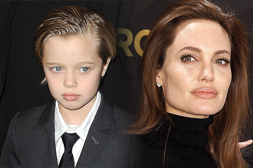 С раннего детства дочь Анджелины Джоли Шайло отказывалась носить платья и туфли, предпочитая им джинсы, пиджаки и кроссовки.