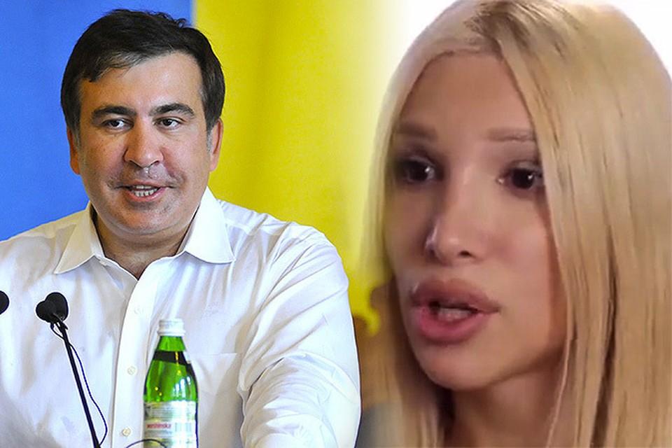 Михаила Саакашвили уличили в интимных связях с транссексуалом