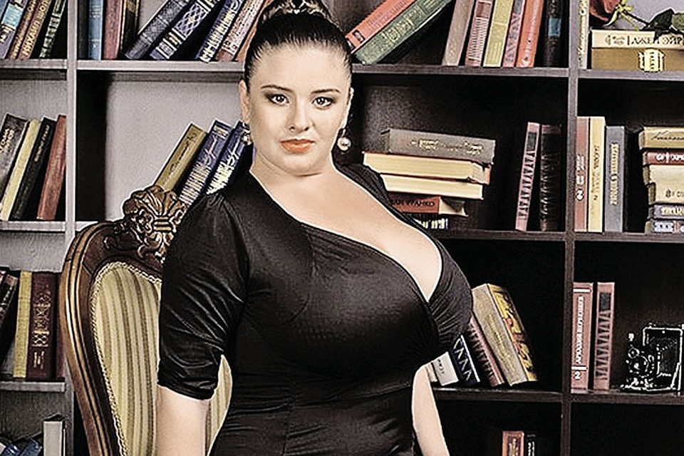 самые большая грудь у женщин