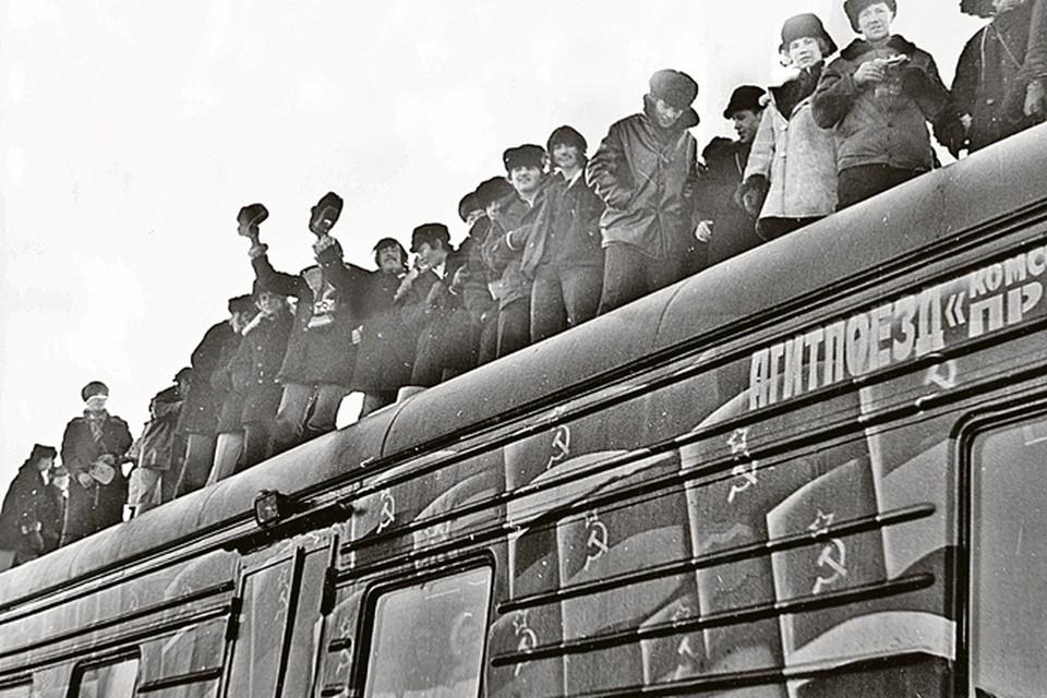 """Поезд """"Комсомольская правда"""" наколесил по БАМу 500 000 километров"""