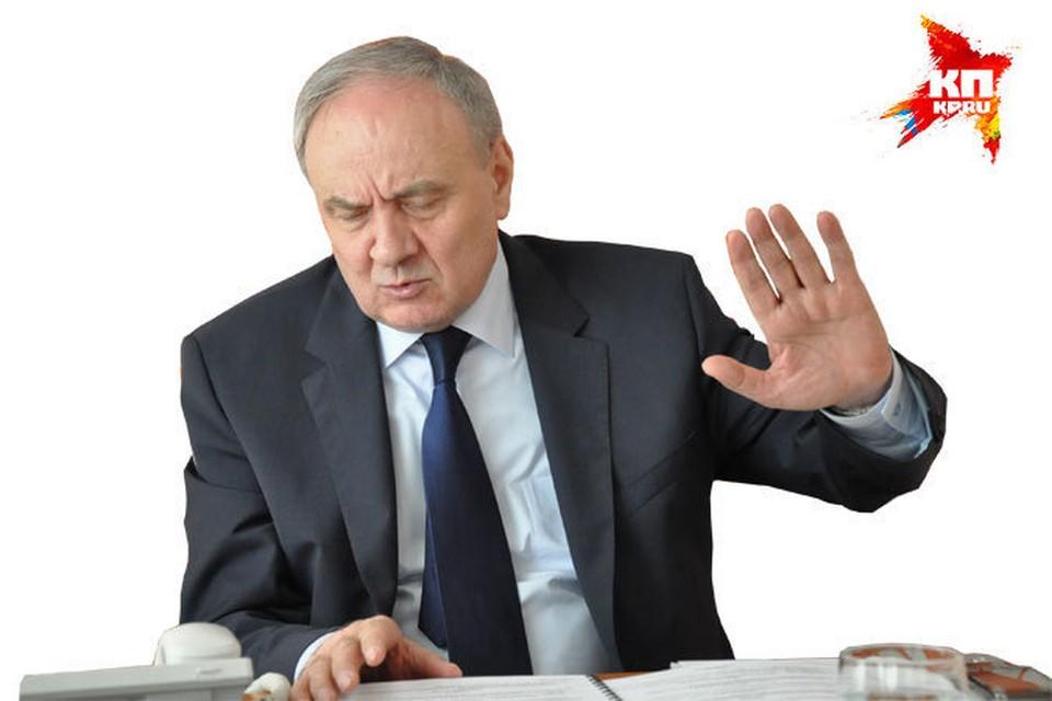 Николая Тимофти так и не удалось уговорить шутнику арестовать Саакашвили.