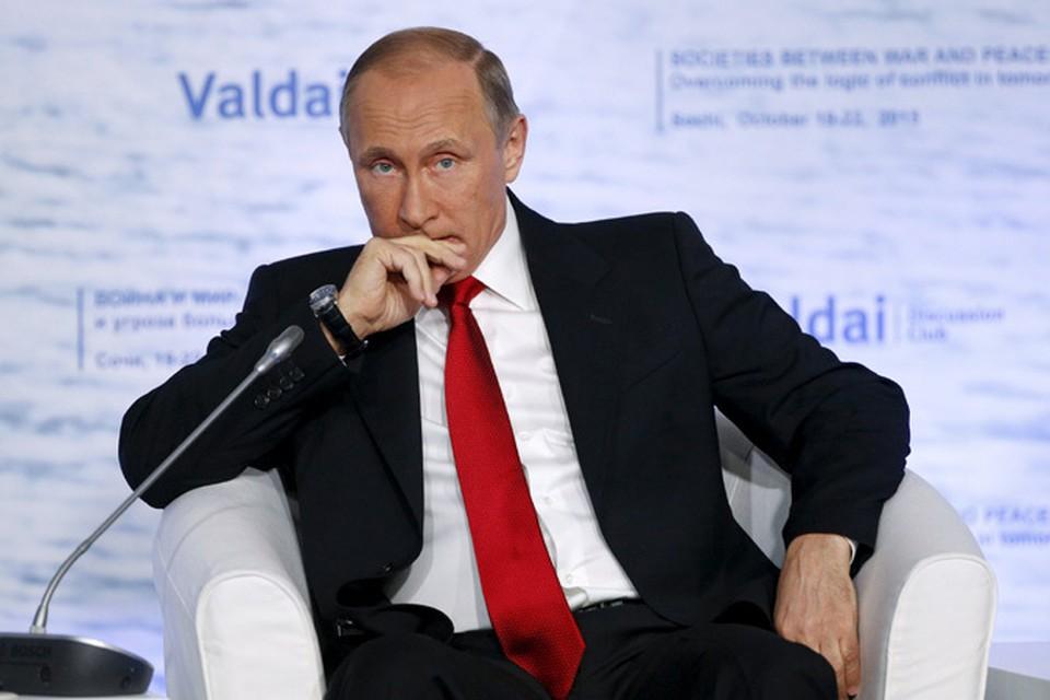 Владимир Путин в таких острых диалогах чувствует себя превосходно