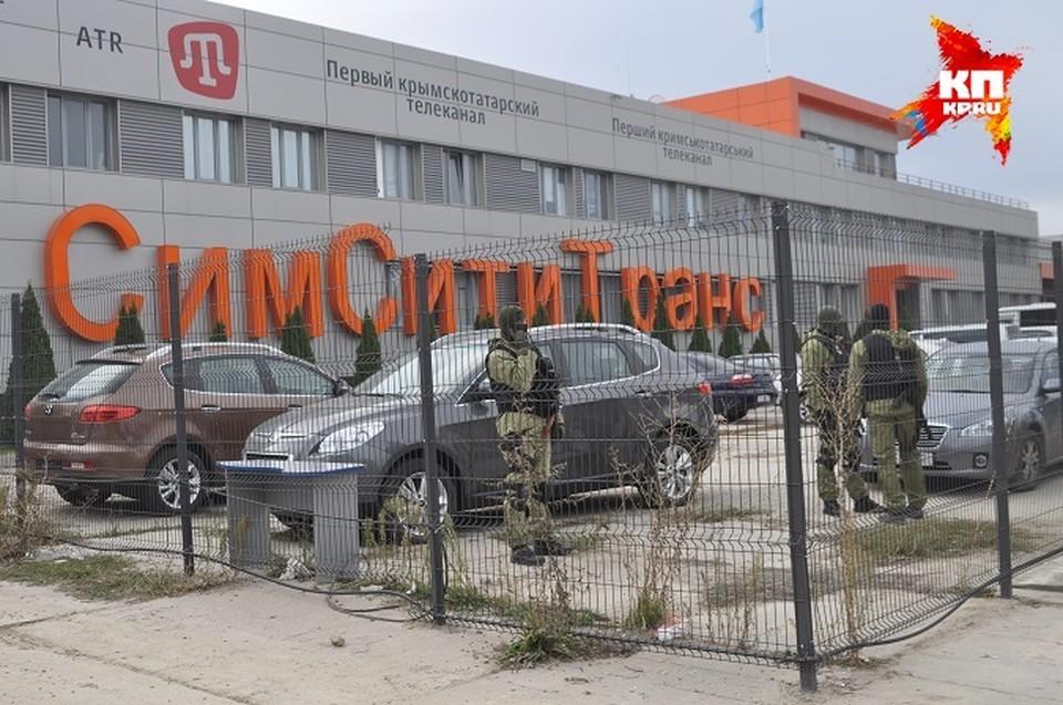 На крымско-татарском телеканале ATR идет обыск