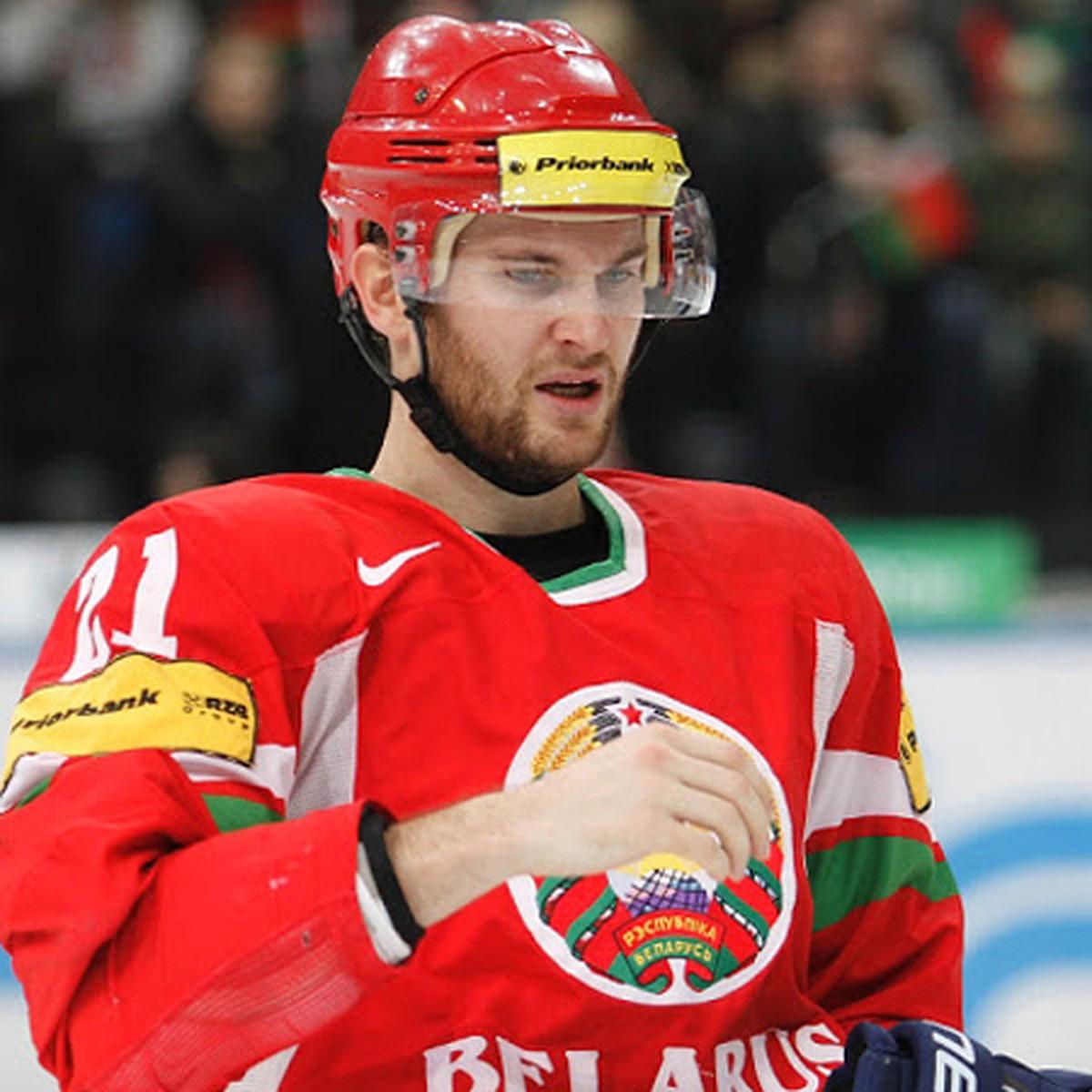 Рекордсмен чемпионатов мира по хоккею отказался выступать за сборную Беларуси