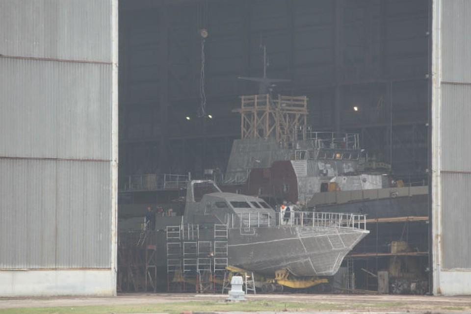 Ремонтируемый корабль находится на вооружении у Алжира.