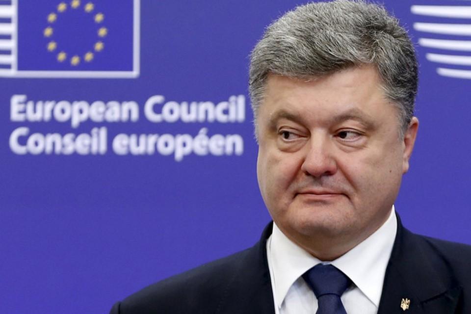 Чтобы встать в один ряд с влиятельными мировыми лидерами Президенту Украины потребовался коллаж