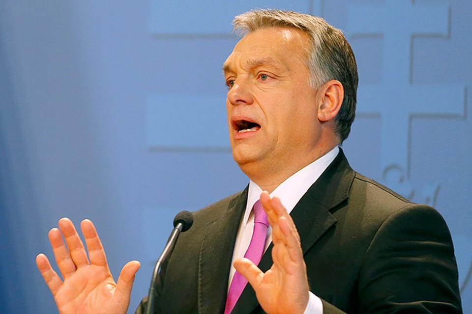 В Европе сегодня есть только один политик, который ведет себя как глава суверенного государства. Его зовут Виктор Орбан