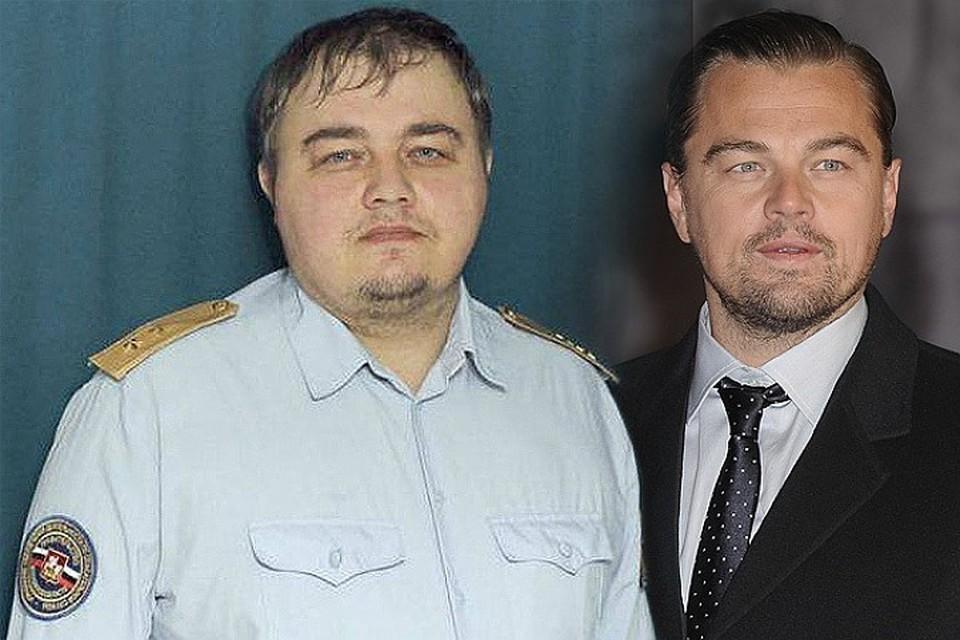 Двойника Ди Каприо. который всполошил Интернет зовут Роман Бурцев, ему 33 года, живет в подмосковном Подольске.