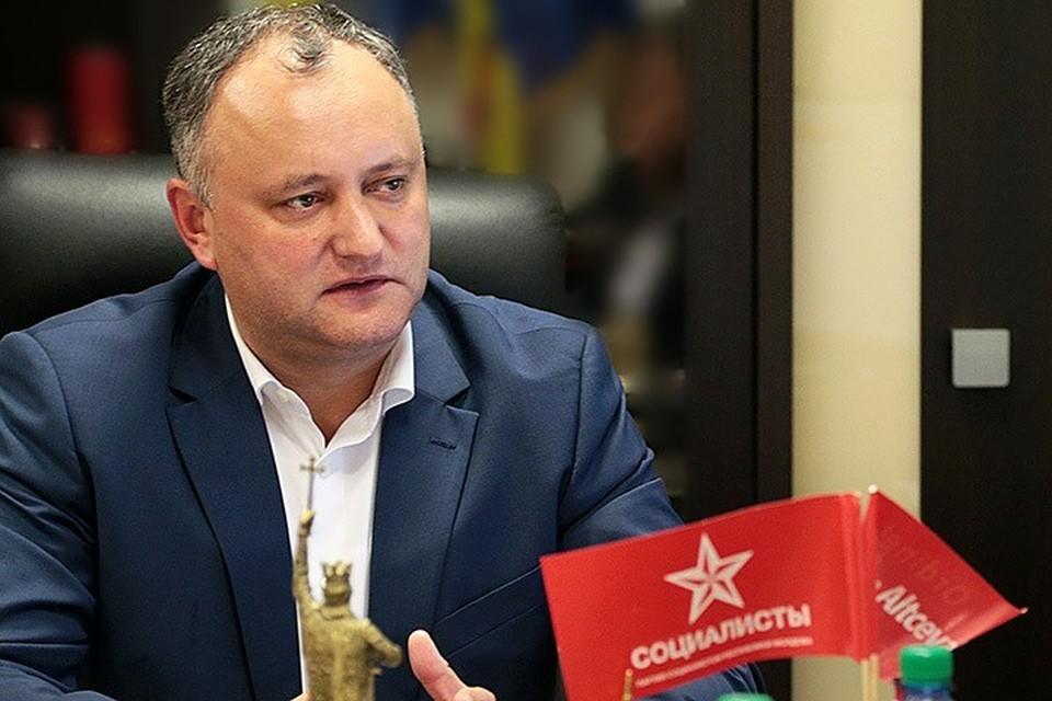 Молдавский оппозиционер Игорь Додон. Фото: пресс-служба политика