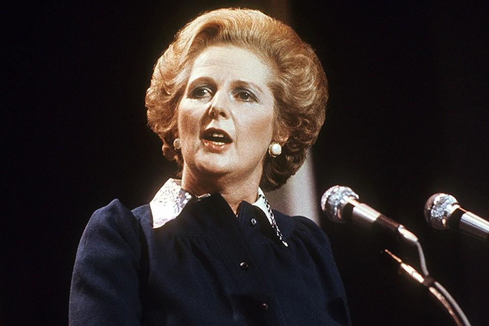 """Маргарет Тэтчер не просто так прозвали """"железной леди""""."""