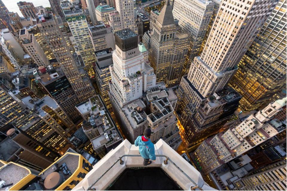 "Нью-Йорк. Манхэттен. Фото: Вадим Махоров. Предоставлено музеем ""Эрарта"""