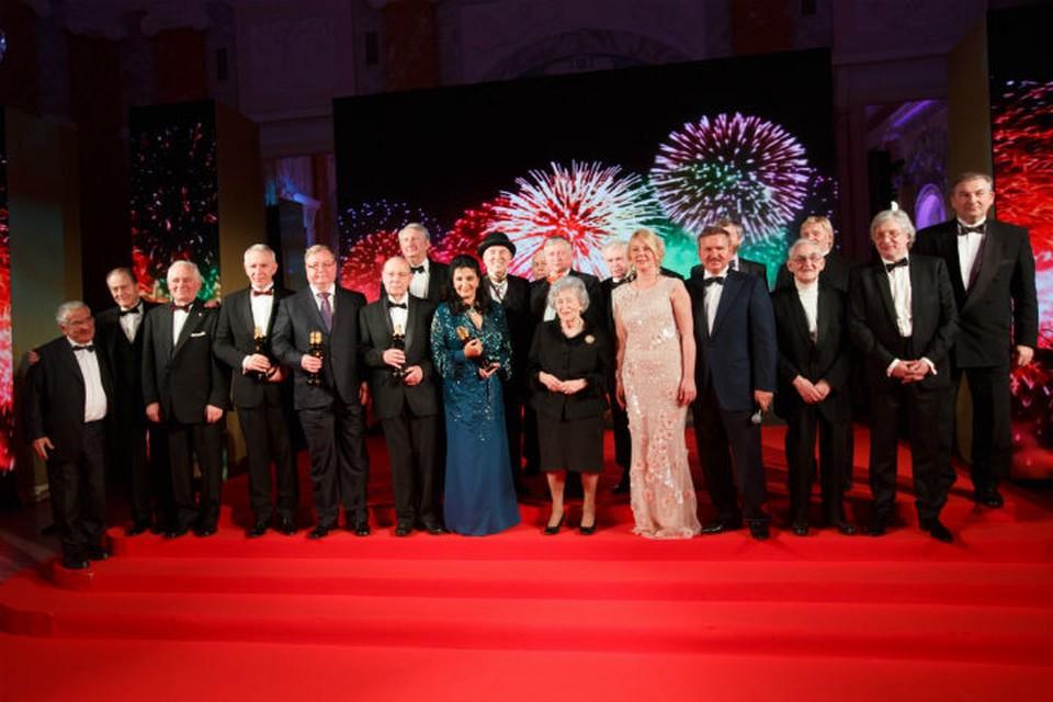 Лауреаты премии - известные и уважаемые персоны