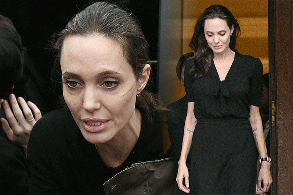 Как сообщает один британских таблоидов, Джоли госпитализирована из-за начавшихся проблем со здоровьем