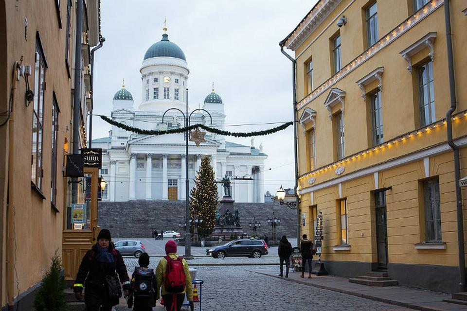 Сенатская площадь Хельсинки.