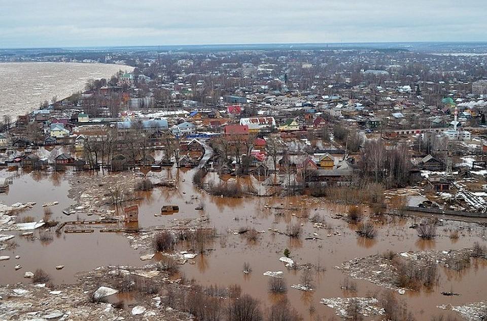 всего наводнение в великом устюге фото этом