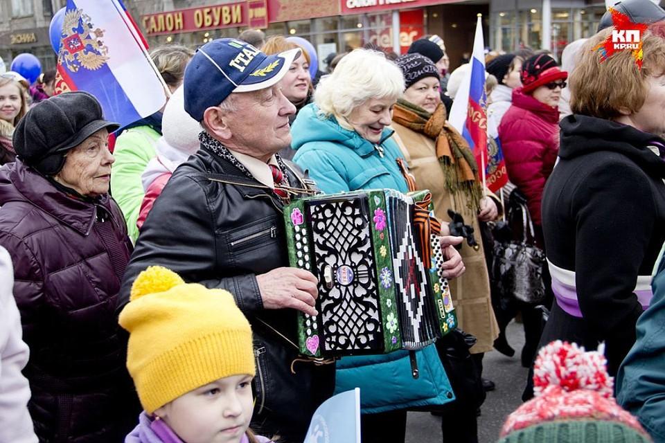 Праздничное шествие вытеснит машины с проспекта Ленина.