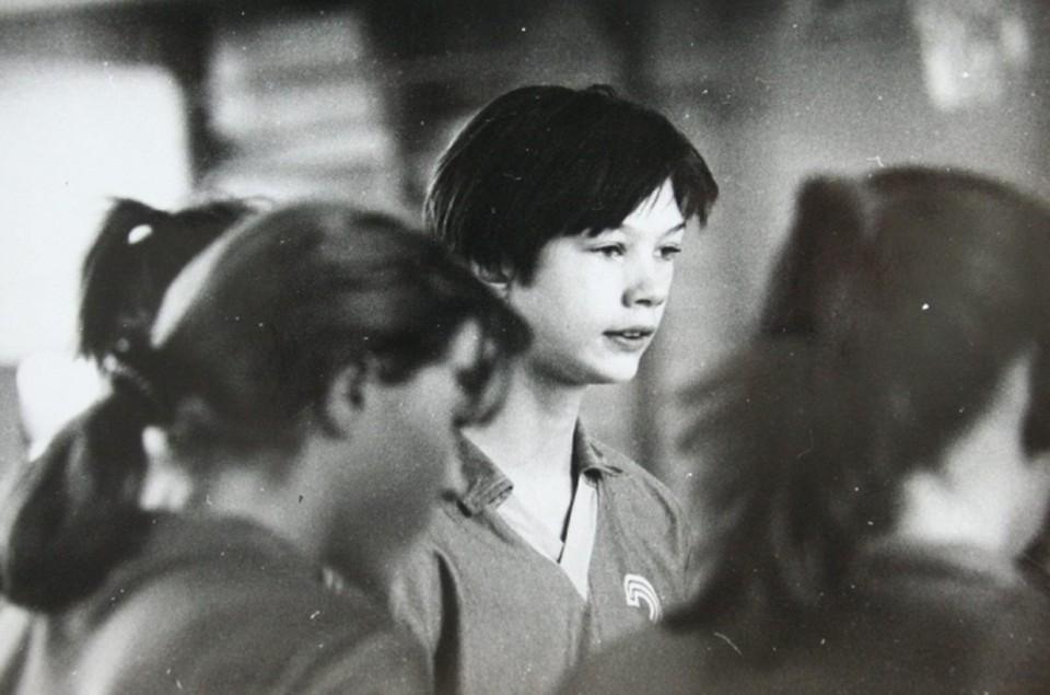 Екатерина Гамова в школьном возрасте. Фото из личного архива Е. Гамовой