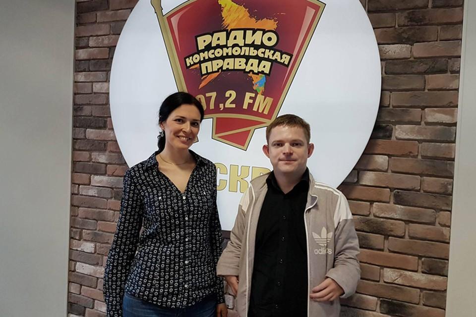 Гость первого выпуска - Олег Еремин - в гостях у Елены Кривякиной на Радио «Комсомольская правда»